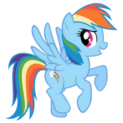 Rainbow Dash in the Guide