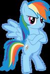 Rainbow Dash - Bridlemaid