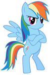 Rainbow Dash - Bridlemaid