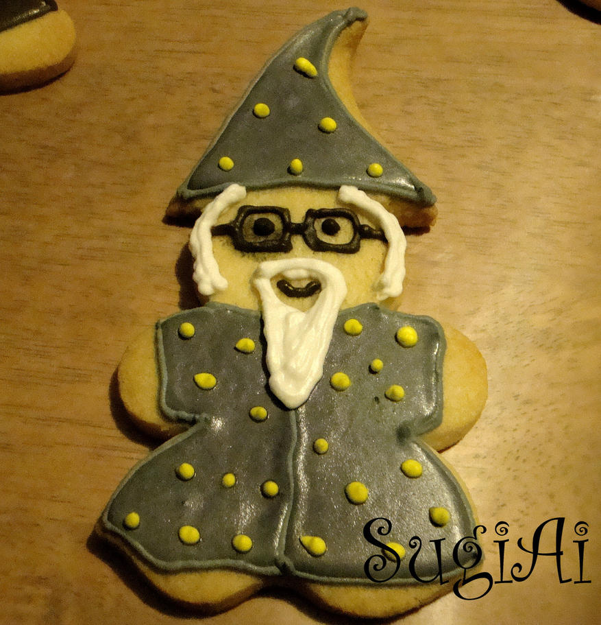 Dumbledore Cookie by SugiAi