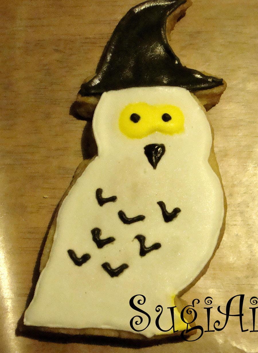 random owl cookie by SugiAi