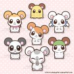 Hamtaro and Friends