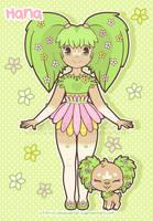Hana: Human forme by x-SquishyStar-x