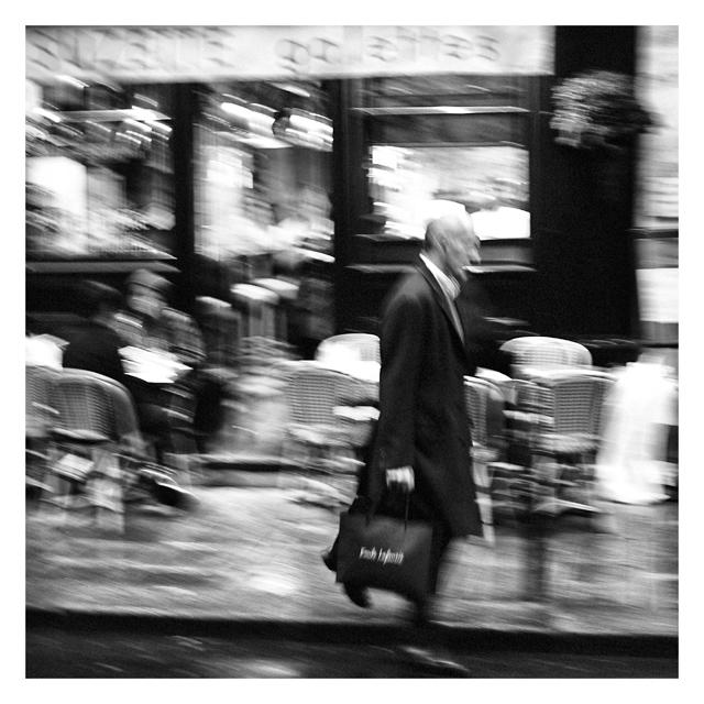 Un homme presse by Loucos