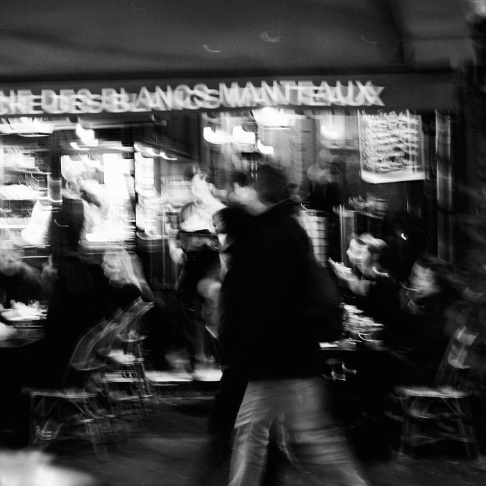 Manteau noir by Loucos