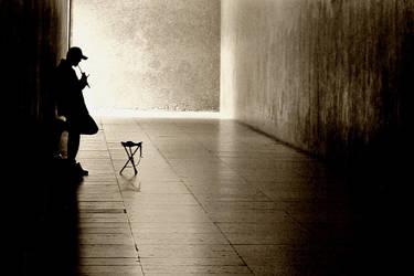 Tin whistler by Loucos