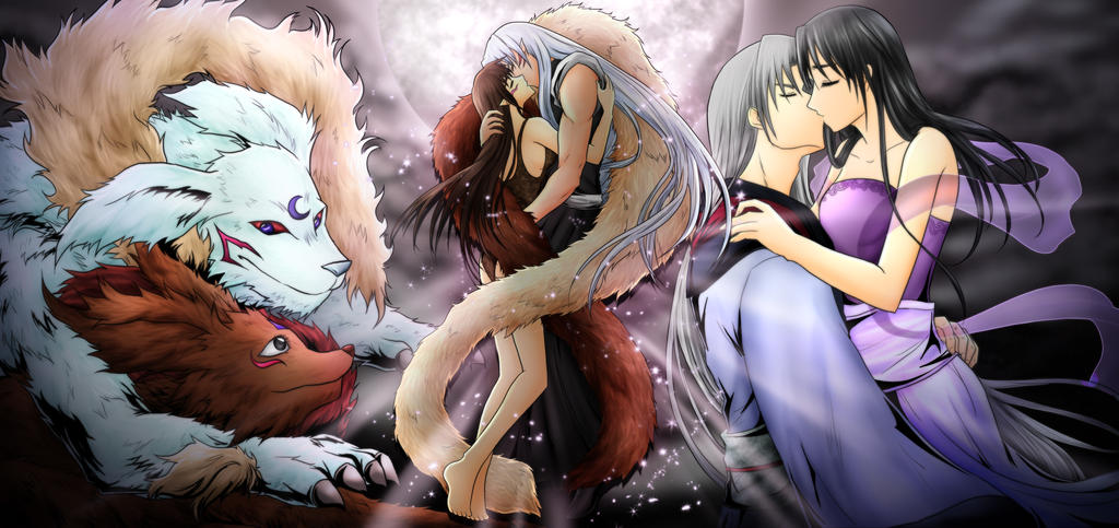 Image Result For Rin And Sesshomaru