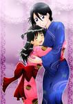 Rin and Rukia Sweet Sisterhood