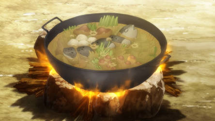 Yona of the Dawn: Fish Miso Hotpot