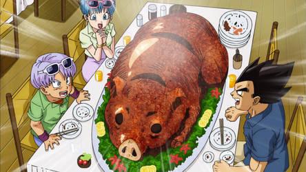 Giant Roasted Pig