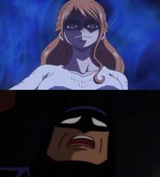 Nami scares Batman