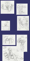 Sketch Dump: Dest of Evane by HeartGear