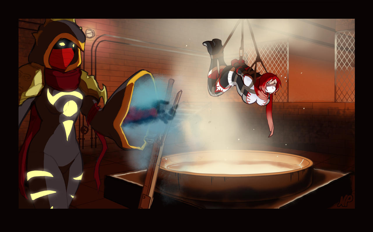 Commission - Smelting Peril! by HeartGear on DeviantArt The Art Of Getting By Drawings