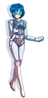 Sailor Mercury - Sci Fi Style