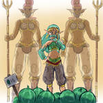 Gerudo Link 02 - Picked Out