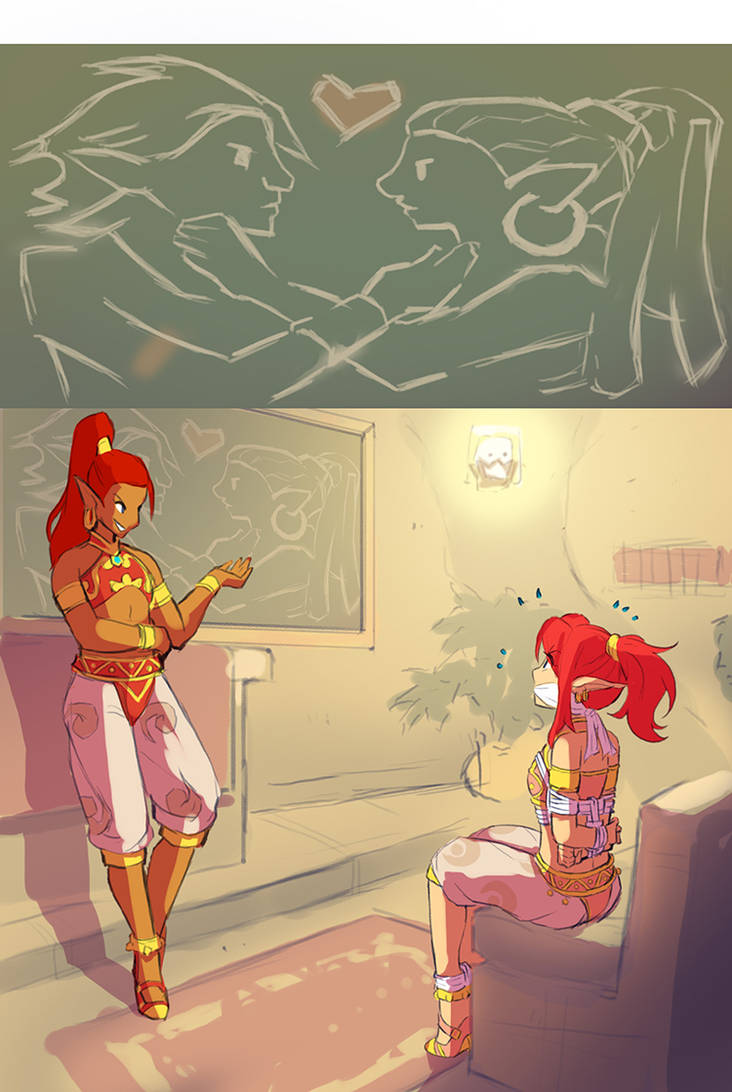 Gerudo Link 27 - Love Lessons by HeartGear on DeviantArt