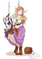 Elves Stream - Curious lil Tula (Malon) by HeartGear