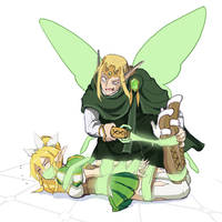 Elves Stream - Binding v2.0 (Leafa) by HeartGear
