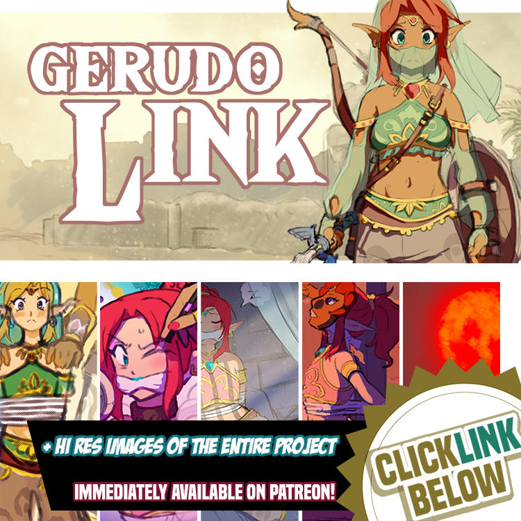 Gerudo Link - COMPLETED (Avail to Patrons)