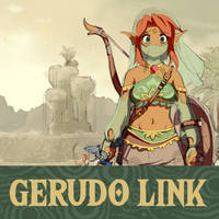 Gerudo Link - Project Cover