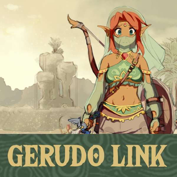Gerudo Link - Project Cover by HeartGear on DeviantArt