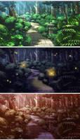 BG Work - Garden Path Variants