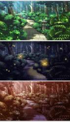 BG Work - Garden Path Variants by HeartGear