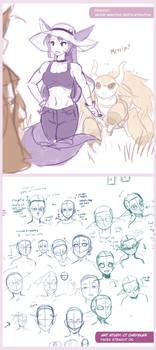 Drawn Together - Grumpy Shiori
