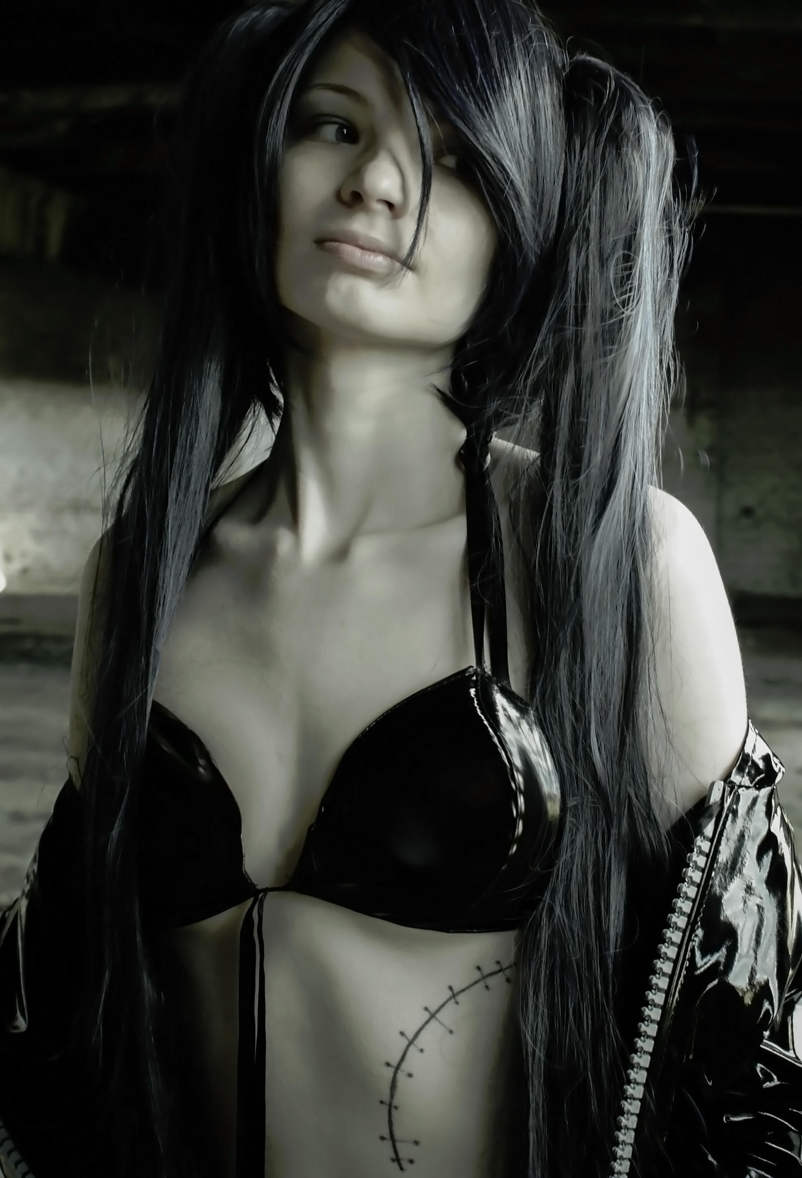 Black Rock Shooter cosplay by Neka-chi