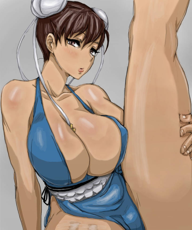DOA Street Fighter (coloring) by Neka-chi