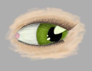 A eye again