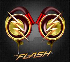 CW TheFlash Headphones