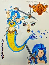 Gyarados Cosplay - Mermaid Tail Version