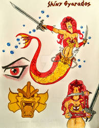 Shiny Gyarados Cosplay - Mermaid Tail Version