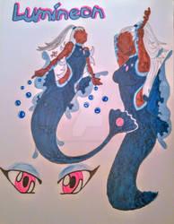 Lumineon Cosplay - Mermaid Tail Version