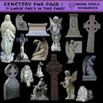 Cemetery PNG Pack Large Images
