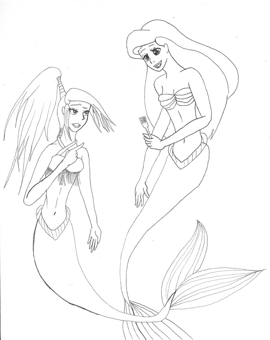 sisters coloring pages - photo#28