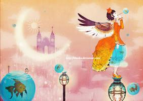 Adrift in Dreams by lilsuika