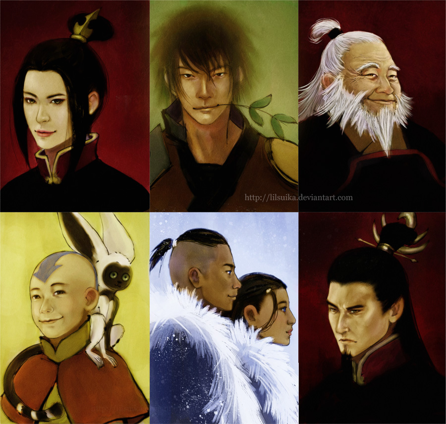 The Last Airbender Movie Appa: ATLA: Portraits By Lilsuika On DeviantArt