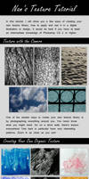 Creating and Utilizing Textures for Digital Art