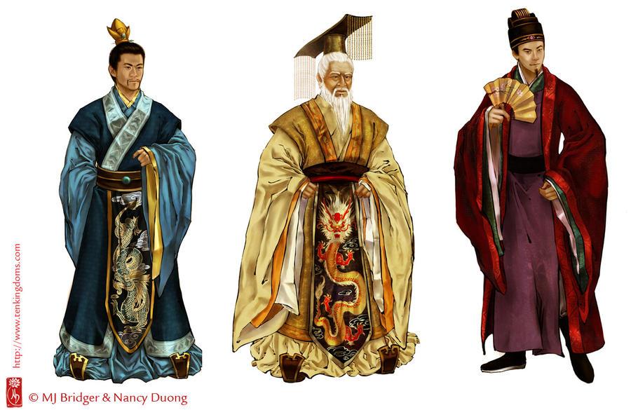 Ten Kingdoms by lilsuika