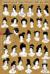 Hairstyles of China's Tang Dynasty Women