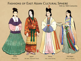 15th-16th century East Asian Cultural Sphere