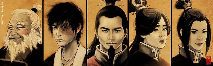 ATLA - Fire Nation Family II