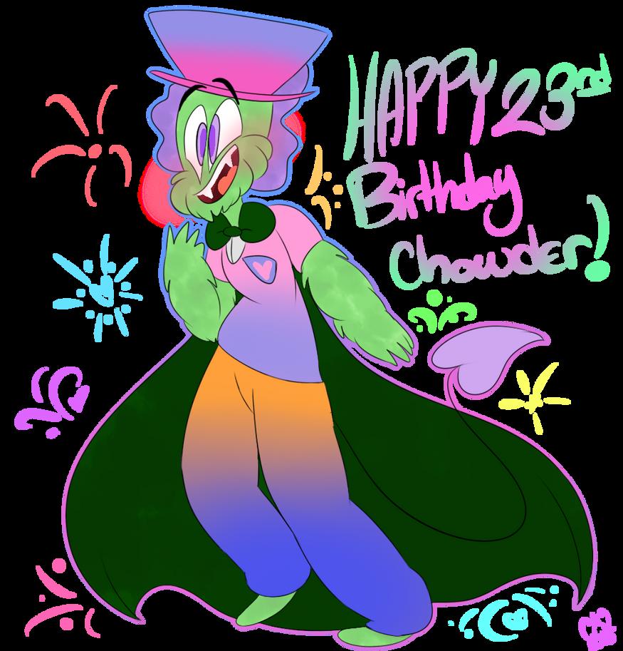 Happy Birthday Chowder! by ceeceeroxx
