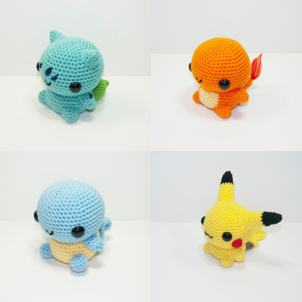 Pokemon by Heartstringcrochet on DeviantArt