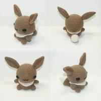 Eevee by Heartstringcrochet
