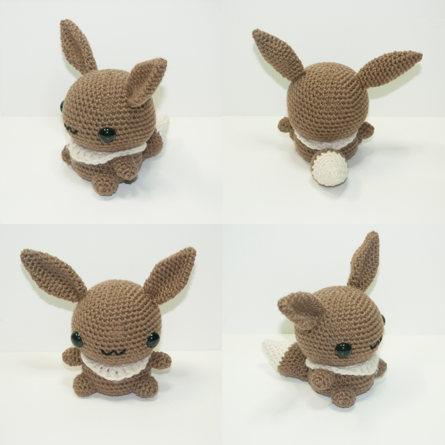 Eevee Pokemon Crochet Pattern Images | Pokemon Images