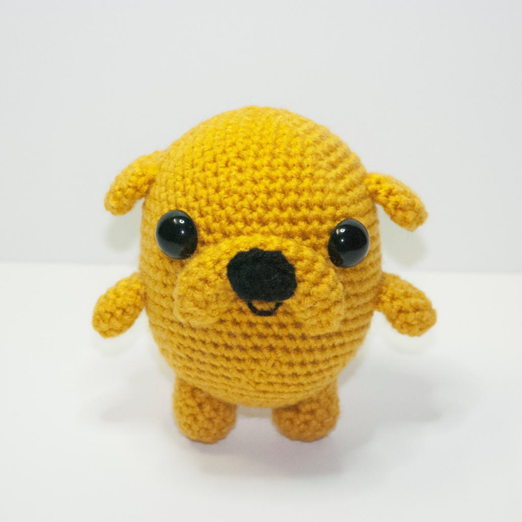 Chibi Jake amigurumi - adventure time ! as keychain or just the ... | 1024x1024