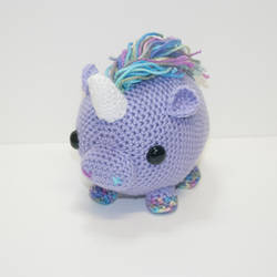 Lavender the unicorn
